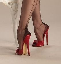 Fully Fashioned Stockings, Garter Belts, Photo Pin, Ladies Shoes, Beautiful Ladies, Nylons, Heeled Mules, Pictures, Photos