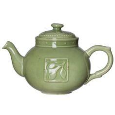 This teapot is perfect for Moms that love tea. Jar Image, Teapot Cookies, Coffee Server, Tea Culture, Kitchen Helper, Ceramic Teapots, Chocolate Pots, Sorrento, My Favorite Color