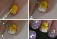 Pasen nagels