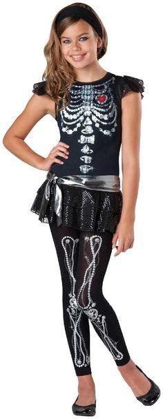 Midnight Huntress Tween Costume Tween Girls Halloween Costumes - halloween costume ideas for tweens