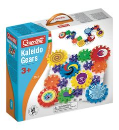 Georello Kaleidogears Building Toy From Quercetti Excellent Introduction To Cause Effect Learning Colorful