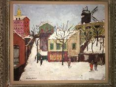 Maurice Utrillo (1883-1955)  Le Maquis de Montmartre