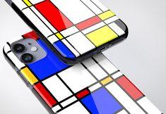 Bauhaus Movement Magazine - MONDRIAN Phone Case