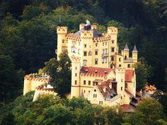 Hohenschwangau Castle near Füssen   18 Impossibly Beautiful Castles In Germany