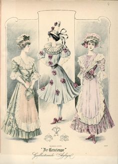 Fancy dress, 1908 the Netherlands, De Gracieuse