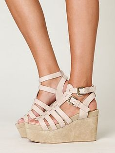 Free People Turin Platform Wedges by Jeffrey Campbell