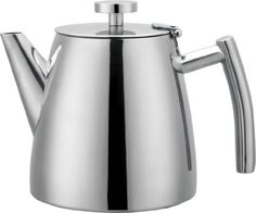 Grunwerg Cafe Ole Double Wall Insulated 40oz Stainless Teapot *** For more information, visit image link.Note:It is affiliate link to Amazon.