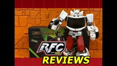 Generation Toy GT-08A Sarge (Not Transformers Masterpiece Streewise) Review