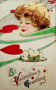 postcardiva postcard blog: Samuel SCHMUCKER Winsch VALENTINE Postcards