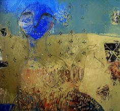 "Rusudan Khizanishvili ; Oil 2012 Painting ""Lost in the mist 2"""