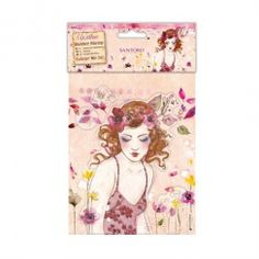 Docrafts Colour Me In Rubber Stamps - Santoro - Innocence