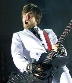 Jared Leto from 30 Seconds To Mars.