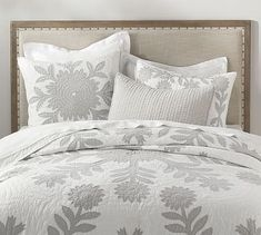 Lilo Tropical Cotton Quilt & Shams #potterybarn