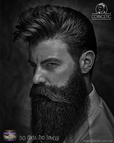 """Rockabilly ain't dead. . A loose styled high pomp hair cut that is made manageable and flexible with the use of Copacetic Paste. . Hair by Savills Barbers. . """"No mess, No Stress. It's all Copacetic!"""""""