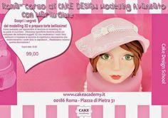 cake academy: CORSO DI CAKE DESIGN A ROMA - MODELLING AVANZATO