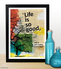 A3 Motivational poster with positive thinking by inspiring4U, $26.00