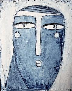 "Philippe Lareau-Vaillancourt ""Visage bleu"" www.philippelareauvaillancourt.com"