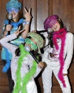 Get your POP STAR costume with activity for your next B-day party!!!!!  Find them @ www.2butterflies.com