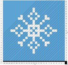 After discovering Sarah's ( Repeatafterme ) pixel christmas blanket, I just had to try and make my own christmas square. I notic. Pixel Crochet, C2c Crochet, Crochet Stitches, Knitting Charts, Knitting Patterns, Crochet Patterns, Nutcracker Christmas, Christmas Ornaments, Xmas