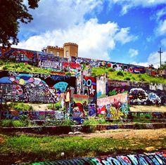 Baylor Street Art Wall