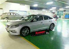 2015 Hyundai Sonata LF Caught in South Korean Plant