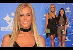 Chloe Meadows and TOWIE BFF Courtney Green at National Lottery Awards