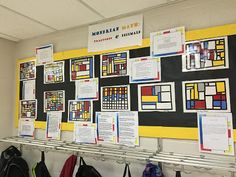 Mondrian Math: Fractions, Decimals, Percents & Blurred Lines - Wild Child's Mossy Oak Musings 4th Grade Classroom, 4th Grade Math, Math Class, Classroom Ideas, Classroom Inspiration, Classroom Organization, Math Activities, Teacher Resources, Interactive Activities