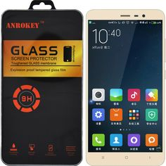 Retail Package 9H 2.5D Tempered Glass For Xiaomi Redmi 4 Pro Redmi Note 3 Pro Redmi Note 4 3S Mi4C Mi5 Max 4A Screen Protector