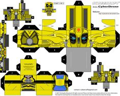 Cubee - Bumblebee 2 'Movie' by CyberDrone.deviantart.com on @deviantART