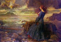 Miranda, The Tempest by John William Waterhouse