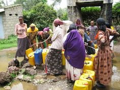 DGHI faculty and trainees are exploring high levels of fluorsis in the water along the Ethiopian Rift, where many people depend on groundwater for drinking water.
