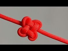How to make a Clover Knot [by ParacordKnots] - YouTube