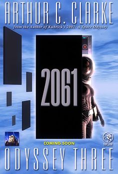 2061 odyssey three 2061: odyssey three is a science fiction novel by british writer arthur c clarke, published in 1987 it is the third book in clarke's space odyssey series it returns to one of the lead characters of the previous novels, heywood floyd, and depicts floyd's adventures,.