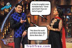 #Kapil Sharma Jokes With #Famous #Bollywood #Star With #JuhiChawla