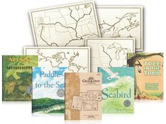 Teaching Geography through Literature. Early elementary pack. Beautiful Feet Books.