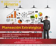 Con el curso #Planeación Estratégica se capacitará al asistente en el diseño e instrumentación de los planes #estratégicos #corporativos. Visita www.mineria.unam.mx para más información.