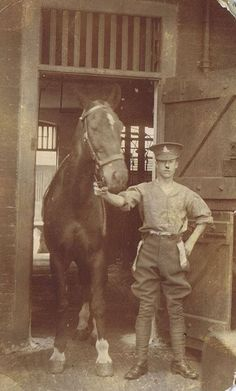 Gunner and his horse