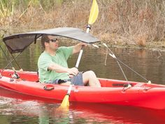Finally, a kayak canopy that adds enjoyment to your next kayak adventure. Engineered around the paddler and designed for stability.