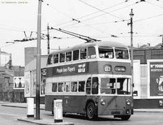 Ashton-Under-Lyne Corporation trolley bus Bus Coach, Salford, Busses, Tow Truck, Derbyshire, Public Transport, Coaches, North West, Yorkshire