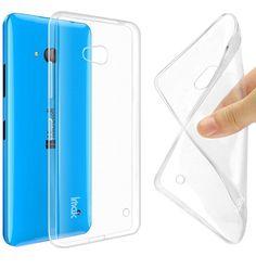 Voor microsoft lumia 535 532 435 640 640xl case cover, 0.6 MM TPU Case Super Slim Soft case telefoon gevallen