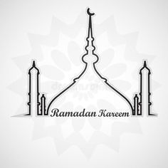 Illustration about Beautiful card for ramadan kareem mosque and masjid. Illustration of glow, masjid, colorful - 41755775 Eps Vector, Vector Free, Mosque Silhouette, Ramadan Kareem Vector, Happy Diwali, Cultural, Graphic Art, Illustration, Islamic