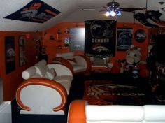 Broncos Room - My son would be in heaven!