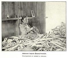 Historic Iroquois and Wabanaki Beadwork: Historic Abenaki Images
