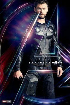 Chris Hemsworth as Thor - The Avengers: Infinity War, 2018 Marvel Dc Comics, Marvel Heroes, Thor Marvel, War Comics, Marvel Characters, Marvel Movies, Tony Stark, Thor Wallpaper, Chris Hemsworth Thor