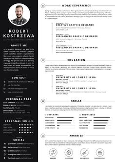 free creative resume template in psd format template