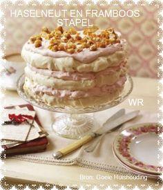 Haselneut-En-Framboos-Skuimpiestapel: Http:Www.Zaafrecipeshazelnut-Raspberry-Meringue-Stack Hazelnut Raspberry Meringue: Http:Www. Raspberry Torte, Raspberry Meringue, Raspberry Cocktail, Raspberry Brownies, Raspberry Recipes, Raspberry Cheesecake, Yummy Drinks, Delicious Desserts, Dessert Recipes