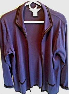 bc1dd5d1919f Women's Exclusively Misook Purple Blazer jacket Size Medium #Misook  #Cardigan #Career