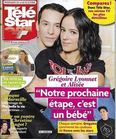 TELE STAR n°2141 14/10/2017  Alizée & Grégoire/ Lignac/ Jolie & Pitt/ Schwarzenegger