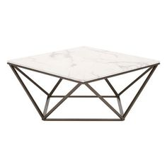 Mason Faux Marble Coffee Table