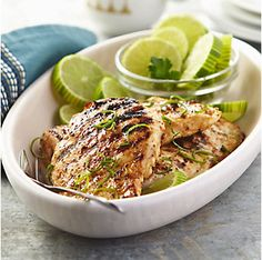 Light&Luscious:  Lime-Grilled Chicken Breasts by @mytexaslife